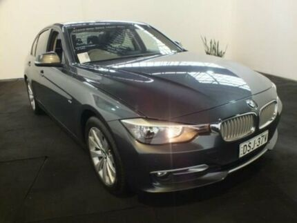 2012 BMW 320D F30 Grey 8 Speed Automatic Sedan Clemton Park Canterbury Area Preview