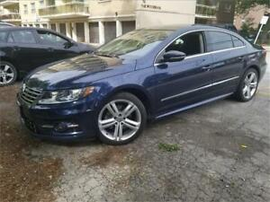 2014 Volkswagen CC R LINE-SPORT-AUTO-LEATHER-PANO ROOF-CAMERA-ON