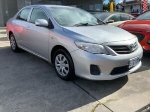 2011 Toyota Corolla ZRE152R MY11 Ascent Silver 4 Speed Automatic Sedan North Hobart Hobart City Preview