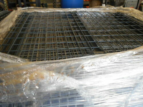 "USED Pallet Rack 48"" x 46"" Double Waterfall Wire Mesh Decking"