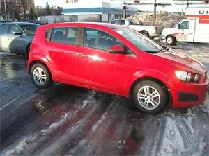 2012 CHEVY SONIC ,GREAT GET AROUND TOWN CAR