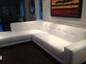 White Sectional Couch For Sale