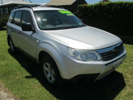 2008 Subaru Forester S3 MY09 X AWD Spark Silver 5 Speed Manual Wagon Macksville Nambucca Area Preview