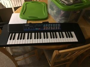 Barely used Casio keyboard