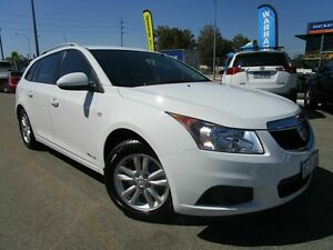 2014 Holden Cruze JH Series II MY14 CD Sportwagon White 6 Speed Sports Automatic Wagon Welshpool Canning Area Preview