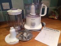 Kenwood Food Processor & Blender/Liquidiser excellent condition