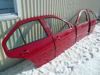 Porte Rouge LY3D Tornado red Volkswagen Jetta MK4 01 02 03 04 05