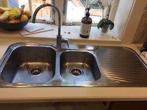 Oliveri dual sink and tap Mosman Mosman Area Preview