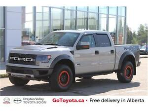 2013 Ford F-150 SVT Raptor 4x4 SuperCrew Cab 5.5 ft. box 145 in.