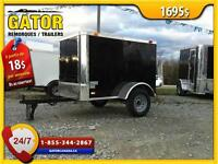 REMORQUE FERMÉ ENCLOSED TRAILER CARGO GATOR 4X6