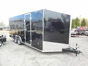 New '17 Enclosed Trailers Car Haulers 8.5x16 18 20 24 28 30 7x14