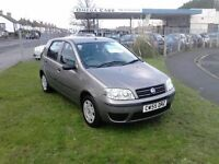 FIAT PUNTO...2005 55 PLATE..1200CC...9 SERVICE STAMPS