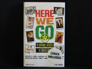 Here-We-Go-91-Cassette-tape-Kylie-Minogue-Southern-Sons-KLF-Jimmy-Barnes
