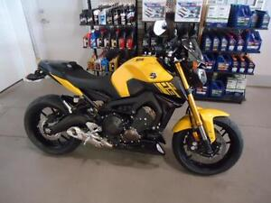 YAMAHA FZ-09 YELLOW