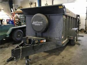 """Canada Trailers 6x12 7 Ton Dump With 48"""" Sides"""