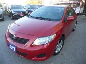 2009 Toyota Corolla CE  150kms Loaded $4995