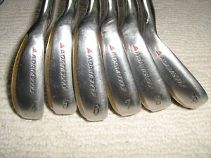 Adams Ovation Iron Set  LH , Steel Shaft