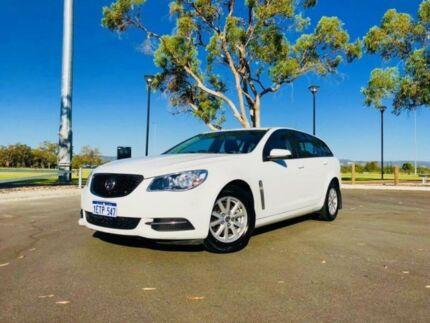 2015 Holden Commodore VF MY15 Evoke White 6 Speed Automatic Sportswagon Beckenham Gosnells Area Preview
