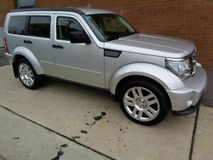 2008 Dodge Nitro KA SX Silver 4 Speed Automatic Wagon Chifley Woden Valley Preview
