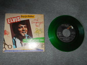 ELVIS  Sing for Children Limited Green Edition