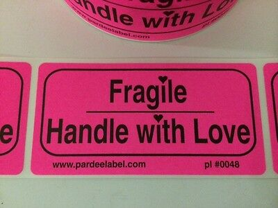 Fragile Handle With Love Labelsstickers 50 2x4 Ebay Shipping Labels Ebay New