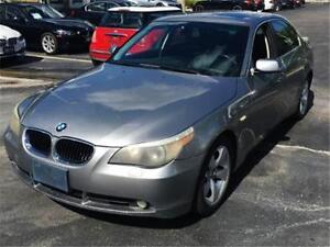 2006 BMW 5 SERIES 525i**LOADED LEATHER!