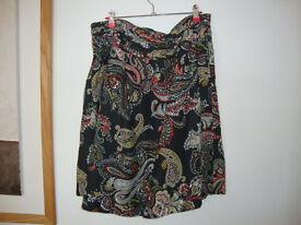 Monsoon Cotton Skirt