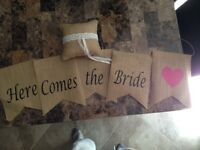 Wedding decorations- moving/must go- BEST OFFER