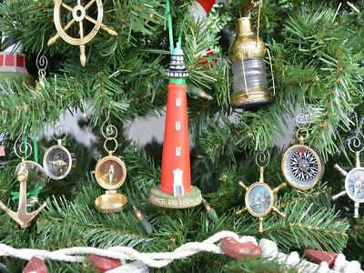 Nautical Christmas Tree (Ponce De Leon Lighthouse Decoration Christmas Tree Ornament- Nautical Christmas)