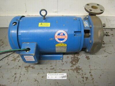 Goulds 5ss1m5d2 Jmm3713t 15hp Pump Motor