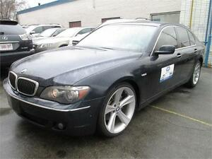 2006 BMW 750i*Luxury package*No Accident-Clean CarProof/LowKM .