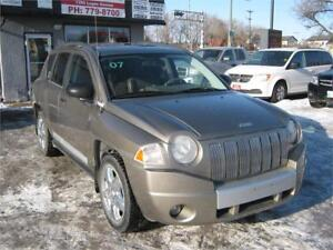 2007 JEEP COMPASS LIMITED  (CLEAN TITLE)