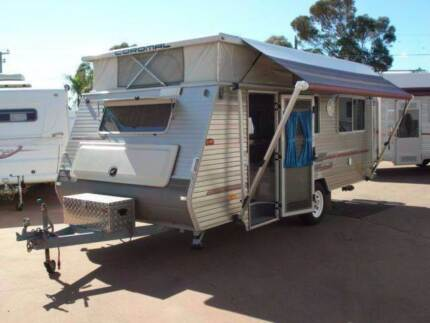 "COROMAL EXCEL 16'6"" POP TOP CARAVAN IN EXCELLENT CONDITION Bellevue Swan Area Preview"