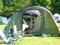 Outwell Palm Coast 6 berth tent. Bought in May 2016, used for 10 nights. New, unused inner.