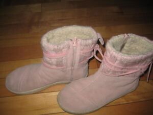TOMS KIDS NEPAL BOOT BOOT - PINK SUEDE -13.5