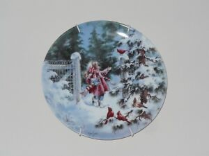 "Collector Plate ""Winter Concert"""