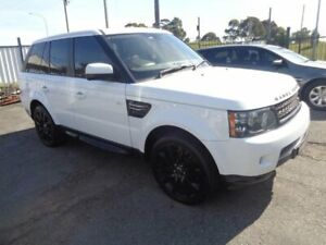 2013 Land Rover Range Rover MY12 Sport 3.0 SDV6 Luxury White 6 Speed Automatic Wagon Sandgate Newcastle Area Preview