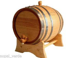 Oak barrel 3L Black Band for whiskey, tequila, wine, bourbon - free engraving