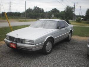 1987 Cadi Allante convertable