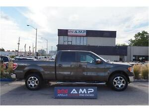 2009 Ford F-150 4X4 LARIAT Leather Chrome 100% Credit Approved