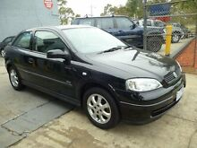 2004 Holden Astra TS SXI Black 4 Speed Automatic Hatchback Mordialloc Kingston Area Preview