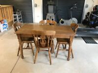 Table and Chairs (4)