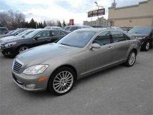 Mercedes-Benz S550 5.5L V8 2008 4Matic-Cuir-Navi-ToitOuv-Massage