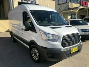 2015 Ford Transit VO 350L White Manual Van Greystanes Parramatta Area Preview
