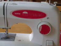brother sewing m/c un uesd