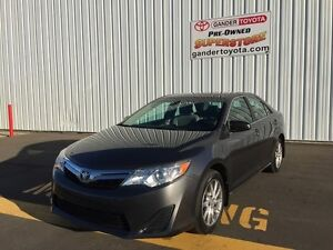 2012 Toyota Camry LE Upgrade Pkg with 7 year/160,000 km Extended