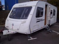 2010 Swift challenger 580 4 Berth FIXED ISLAND BED Inc a Motor Mover.