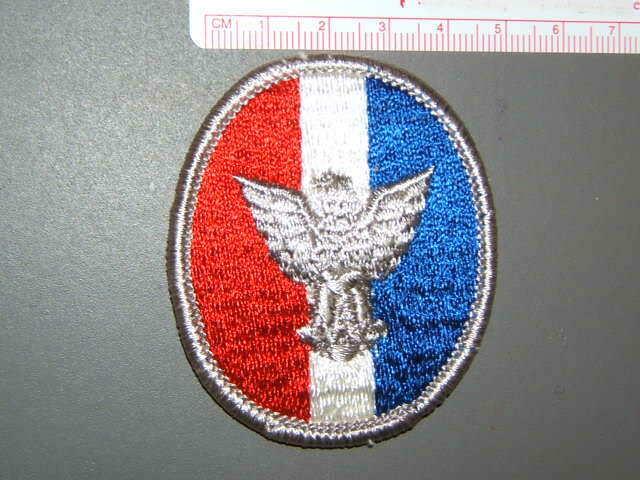 Boy Scout Eagle Scout patch type 6B 0497Q