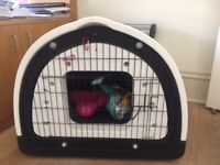Large Dog Pod and bed bought from PetzPodz, hardly used so in very good condition