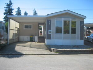 OPEN HOUSE MOBILE HOME. MAR. 20, 12-2 PM! AS NEW, 55 & OVER PARK